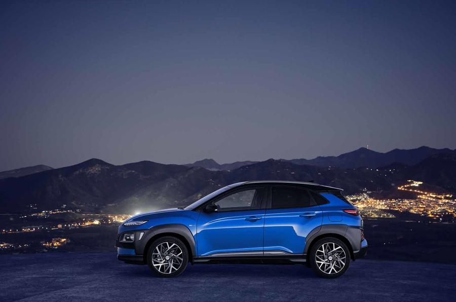 Motor Home For Sale >> New Hyundai Kona Hybrid revealed as 70mpg small SUV | Autocar