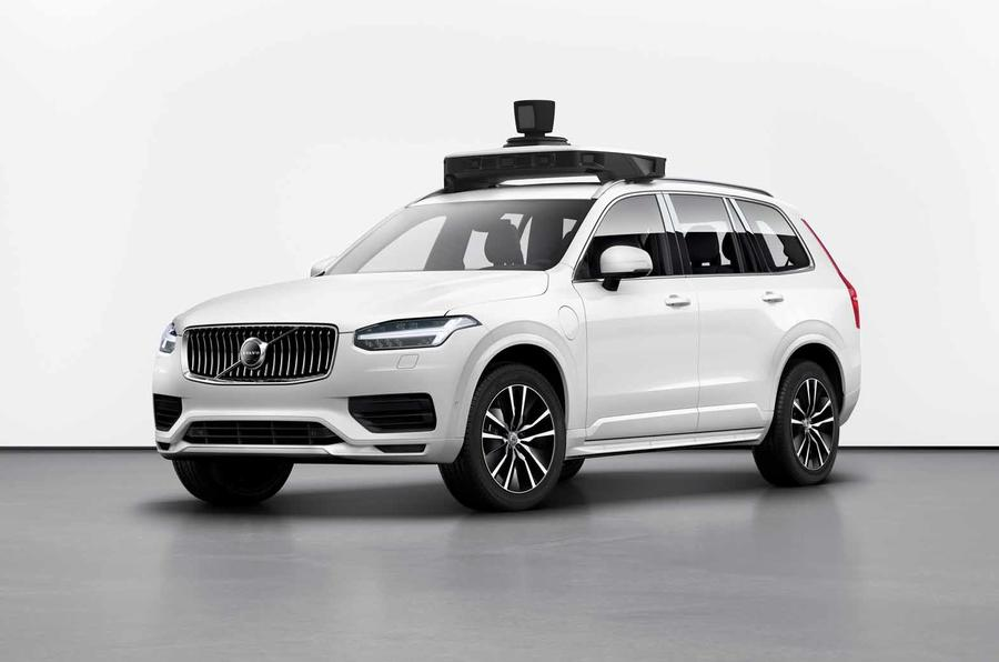 Volvo and Uber's self-driving production vehicle hits the road