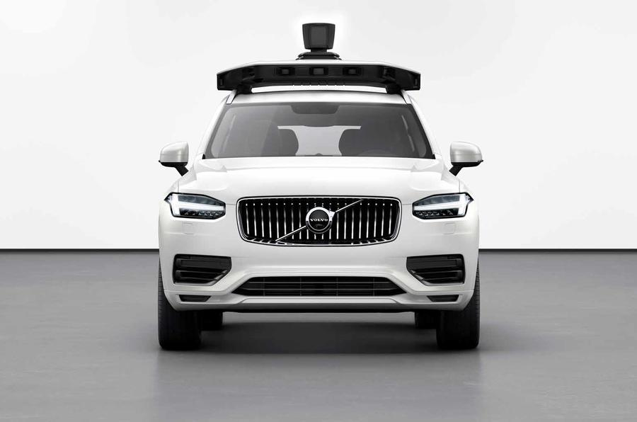 Volvo and Uber unveil a production-ready autonomous auto