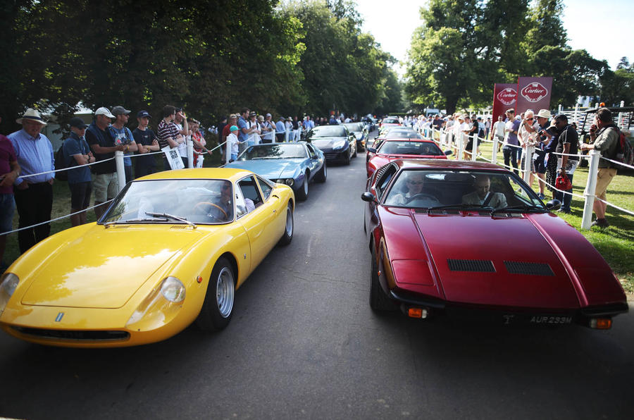 Goodwood Festival of Speed traffic