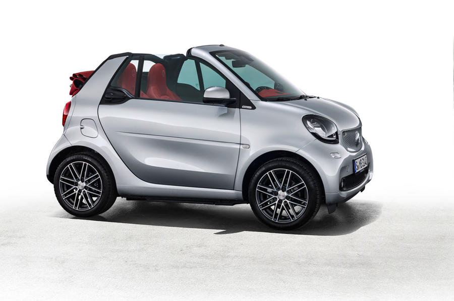 smart fortwo cabrio and forfour special editions unveiled. Black Bedroom Furniture Sets. Home Design Ideas