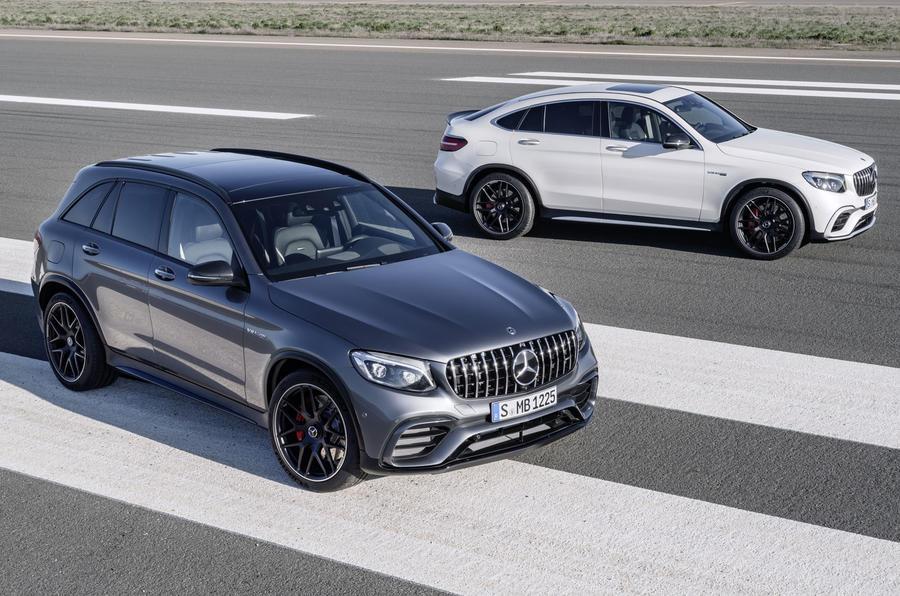 Mercedes GLC 63 and GLC 63 Coupe
