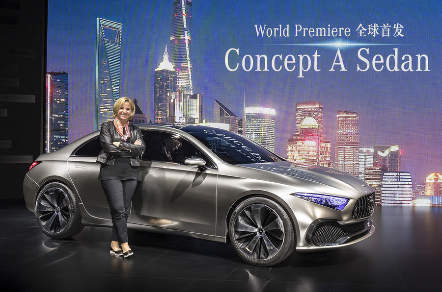 Mercedes-Benz Concept A Saloon brings the fight to BMW, Audi