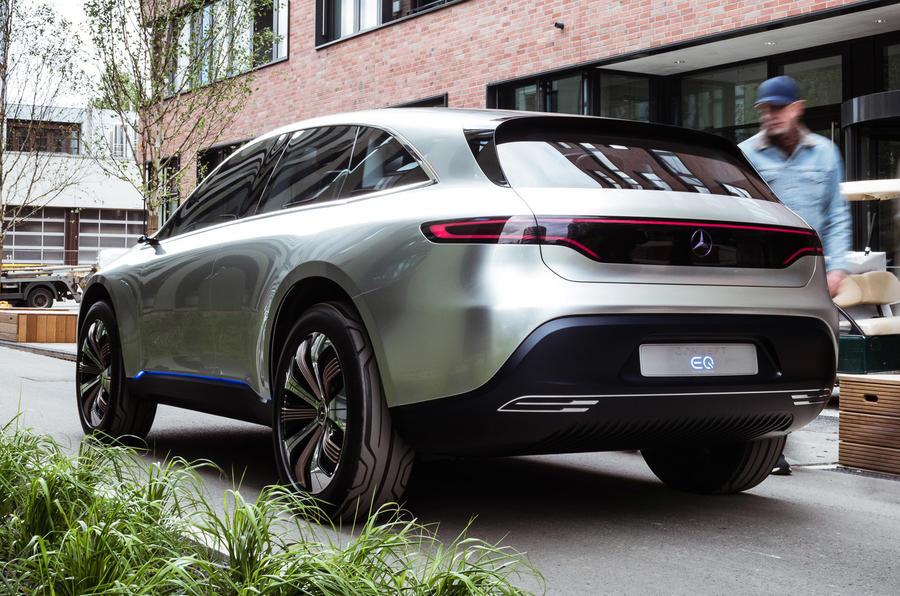 Mercedes EQ concept - first ride | Autocar
