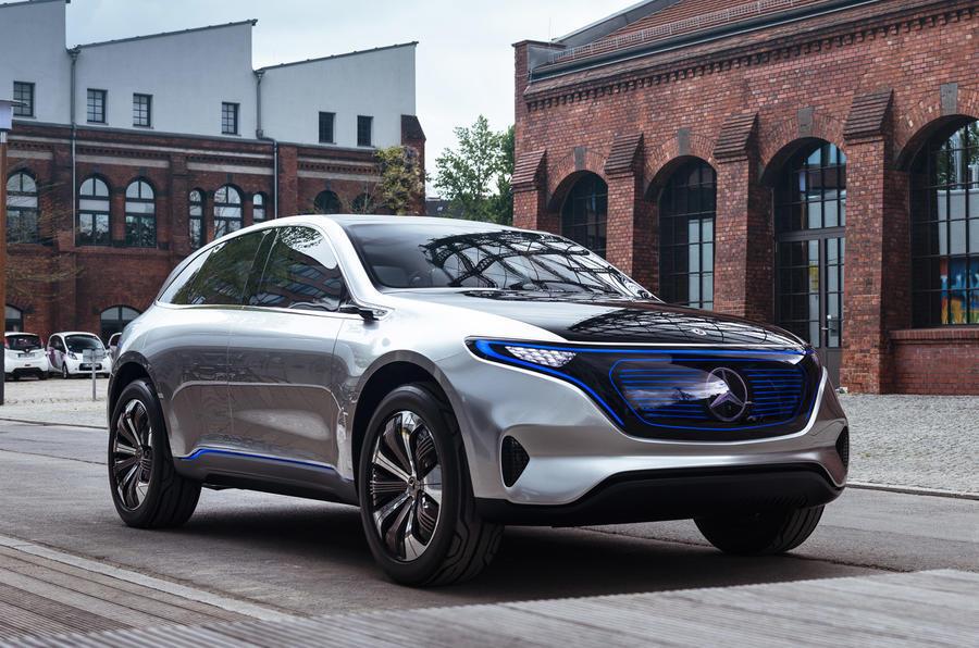 Mercedes-Benz EQ electric SUV concept