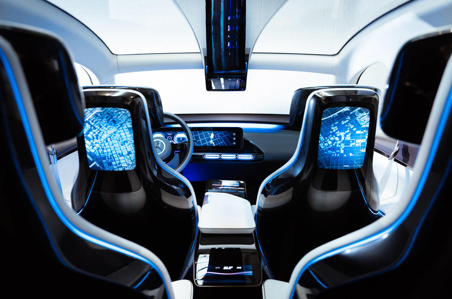 Mercedes Eq Concept First Ride Autocar