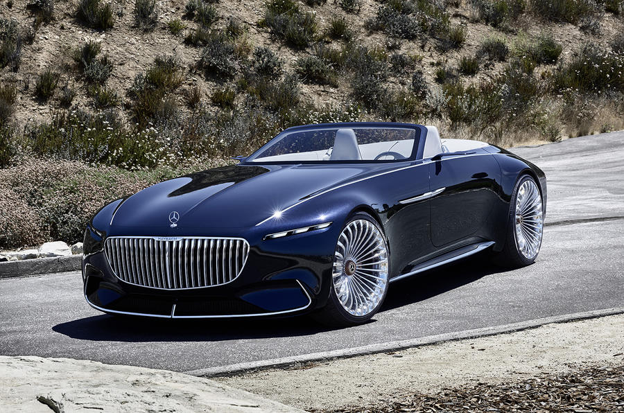 electric mercedes maybach 6 cabriolet concept car revealed. Black Bedroom Furniture Sets. Home Design Ideas