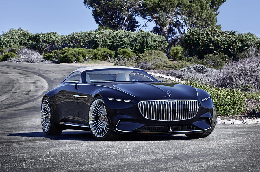 Electric mercedes maybach 6 cabriolet concept car revealed for Mercedes benz new electric car