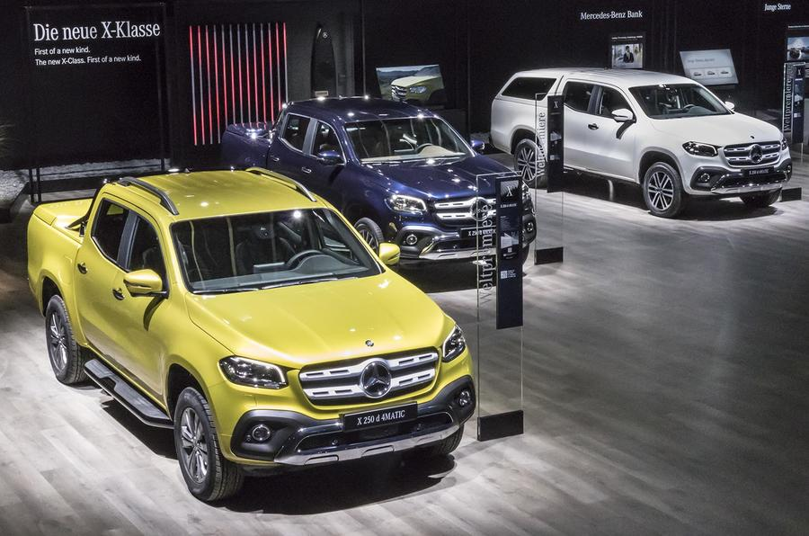 Mercedes benz reveals prices and spec for plush x class for Mercedes benz x class price