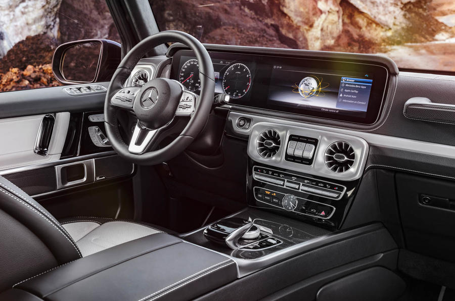 all-new mercedes-benz g-class revealed | autocar
