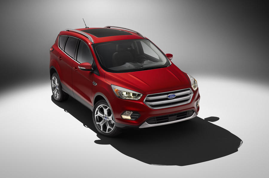 Ford Escape previews 2016 Kuga