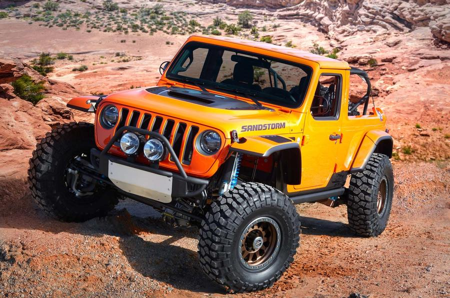 Seven Jeep concept models revealed ahead of Easter Safari