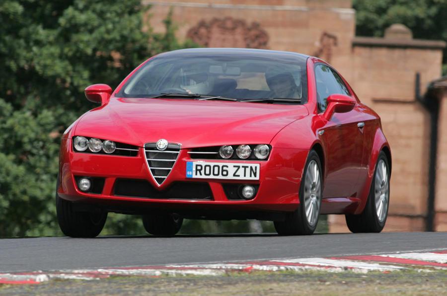 Alfa Romeo Brera - hero front