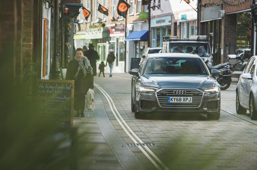 Audi A6 2018 long-term review - on the road front