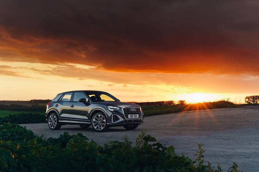 Audi Q2 35 TFSI Sport 2020 UK first drive review - static front