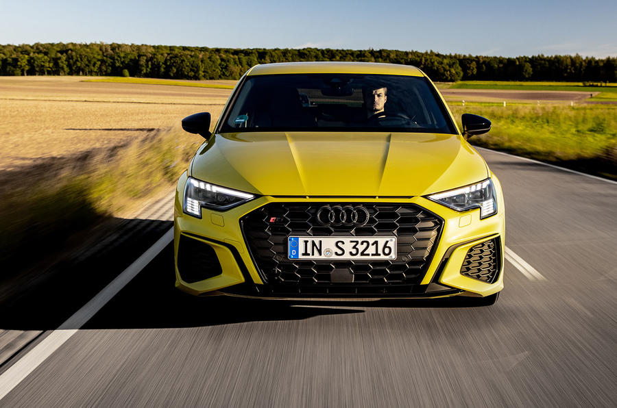 Audi S3 Sportback 2020 first drive review - on the road nose