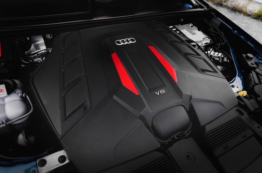 Audi SQ7 2020 : premier bilan de conduite - moteur