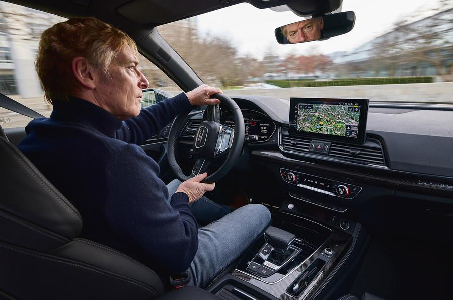 18 Audi SQ5 2021 premier examen de conduite GK