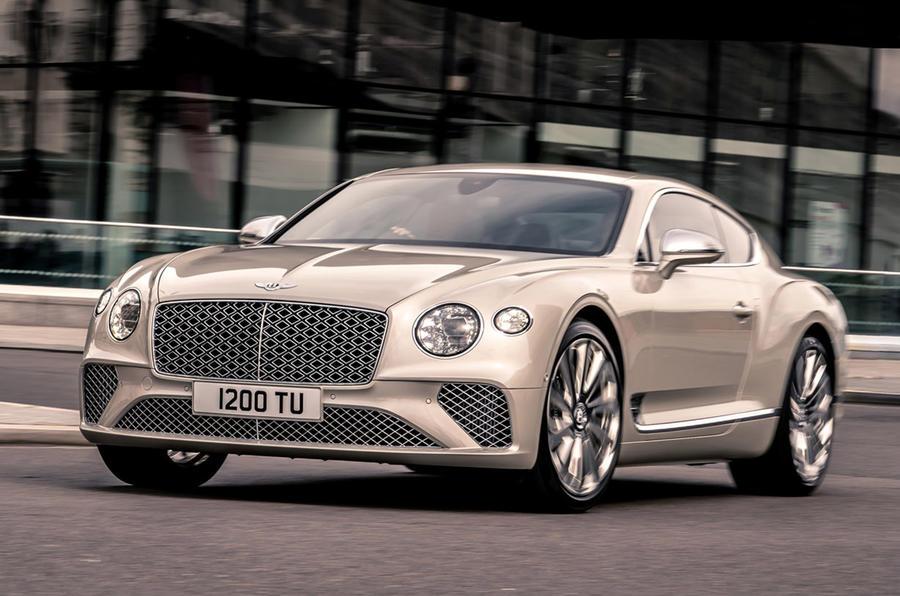 Bentley Mulliner GT - front