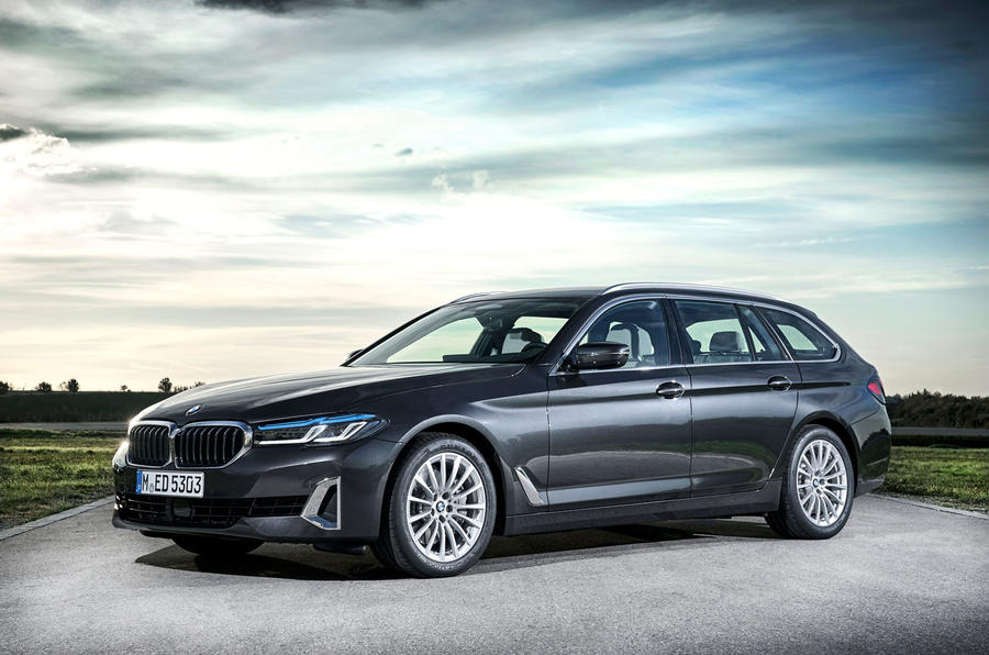 BMW 5 Series 2020 UK (LHD) first drive review - static