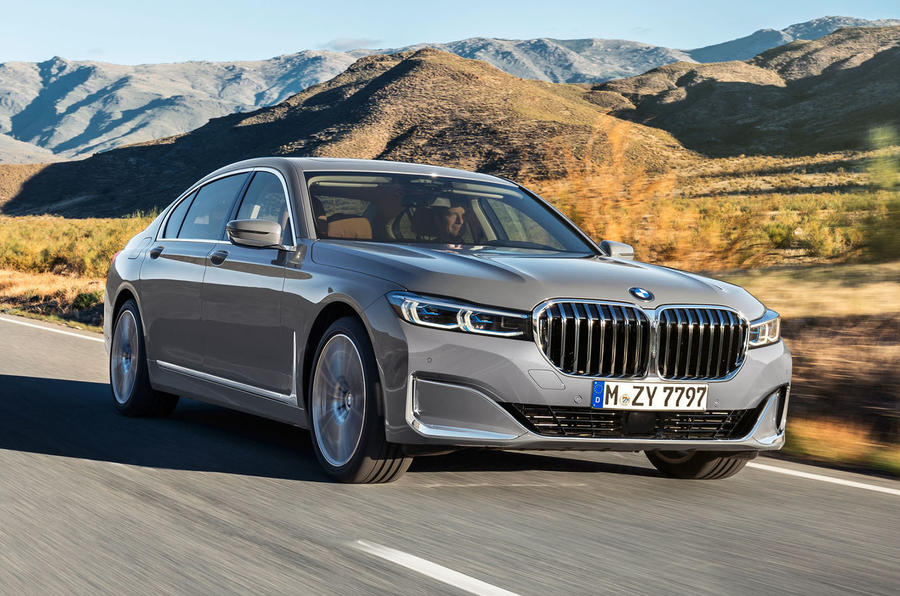 BMW 7 Series 750Li 2019 first drive review - on the road action