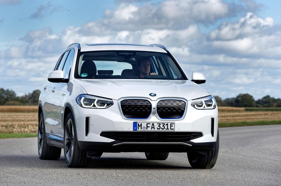 BMW iX3 2020 : premier bilan de la conduite - les virages à l'avant