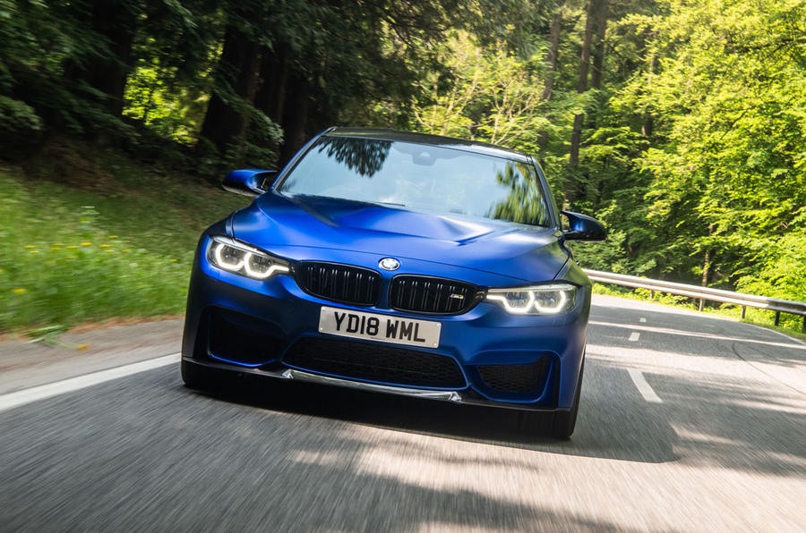 BMW M3 CS 2018 review on the road front
