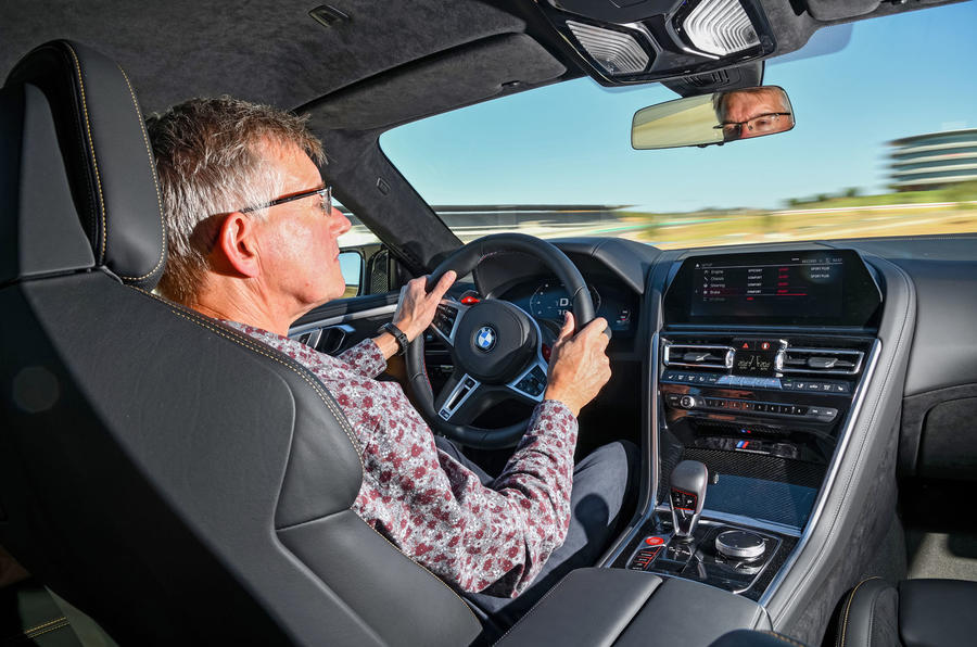 BMW M8 Competition Coupé 2019 first drive review - driving
