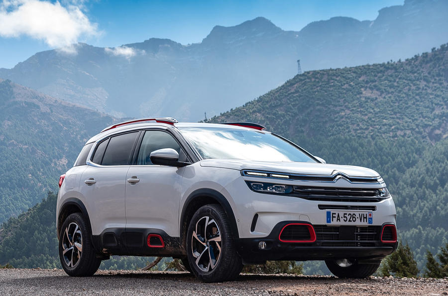 Citroen C5 Aircross 2018 first drive review - static front