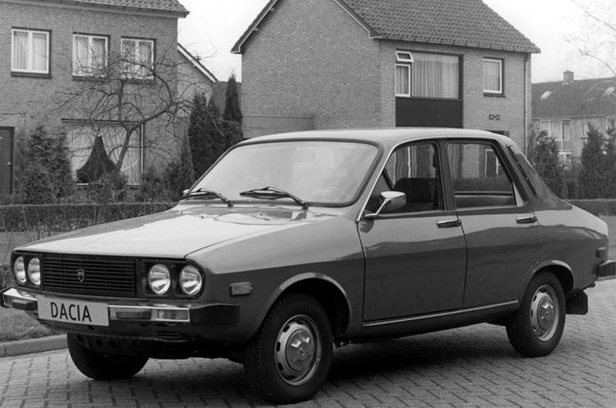 Dacia Denem - static front