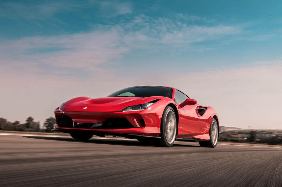Ferrari F8 Tributo 2019 first drive review - track front