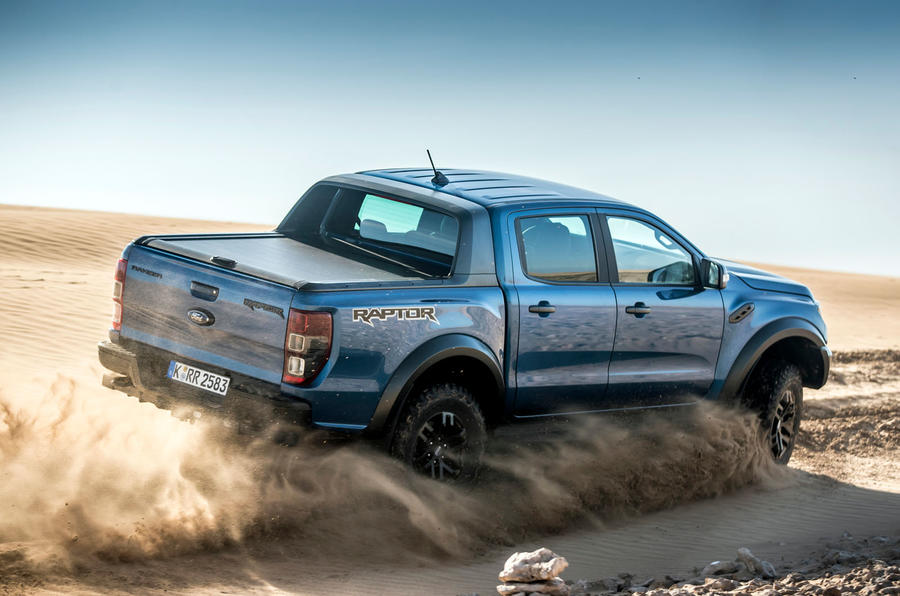 Ford Ranger Raptor 2019 first drive review - sand side