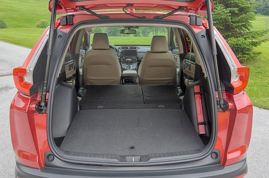 Honda CR-V 2018 first drive review boot space