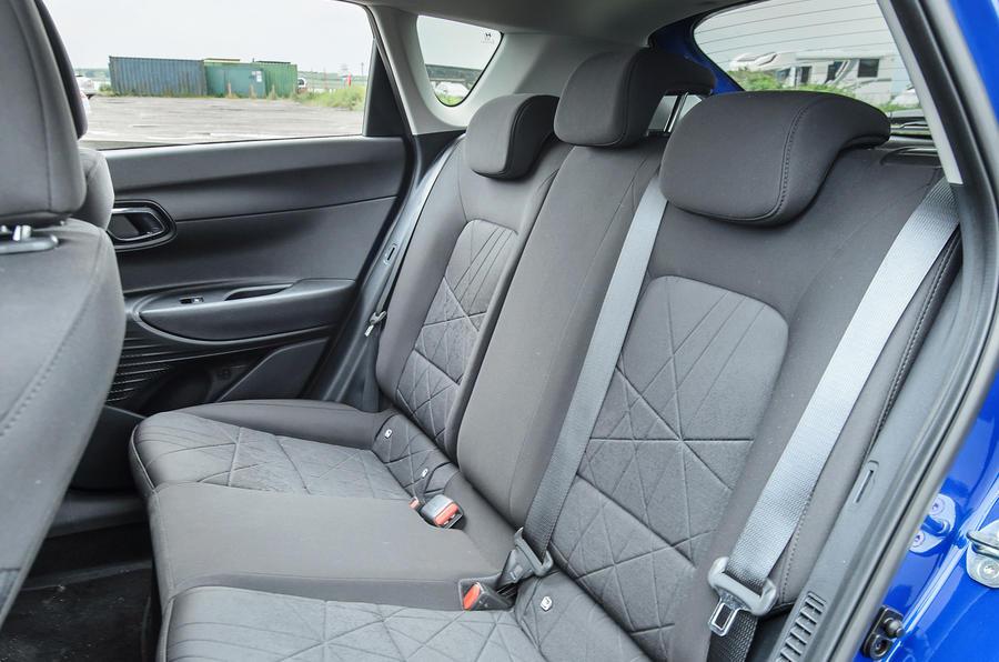 18 Hyundai Bayon 2021 UE FD sièges arrière