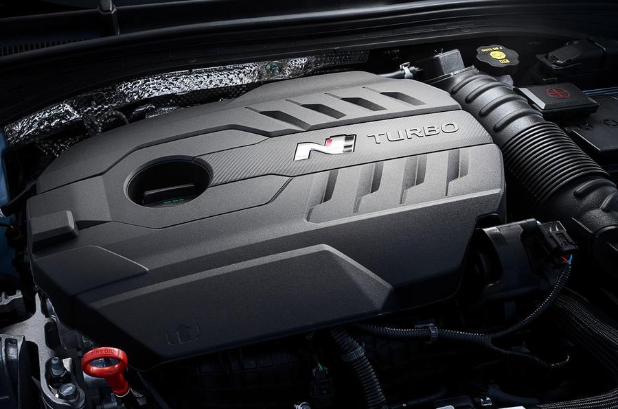 Hyundai i30 Fastback N 2019 first drive review - engine