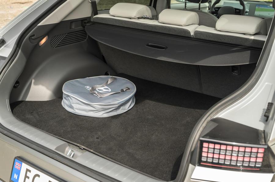18 Hyundai Ioniq 5 2021 FD plaques de Norvège coffre à bagages