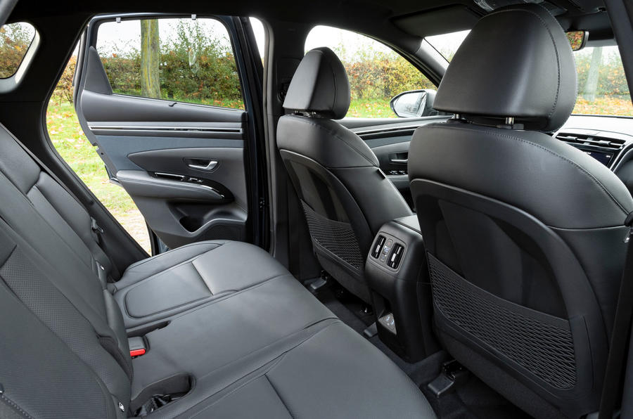 Hyundai Tucson 2020 UK first drive review - rear seats
