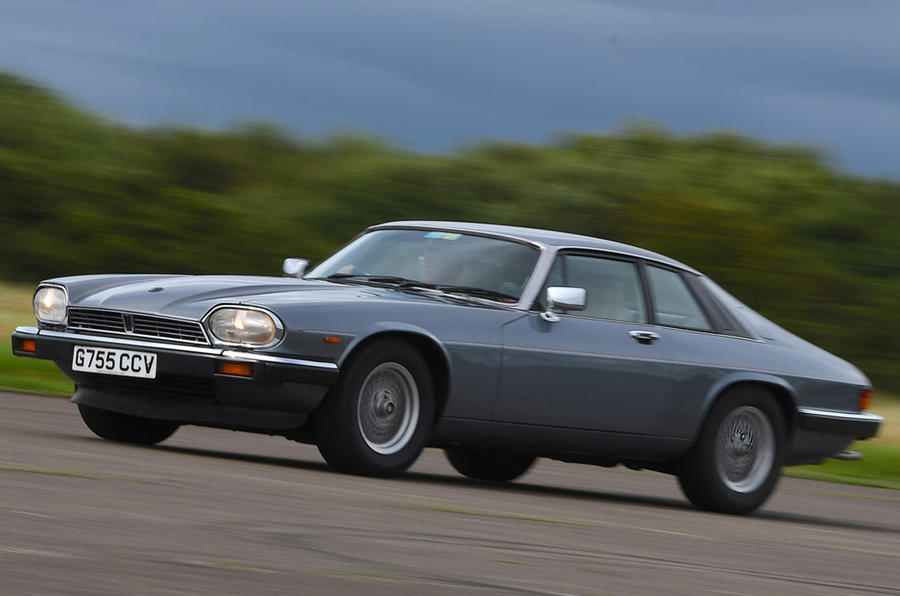 Jaguar XJS - front