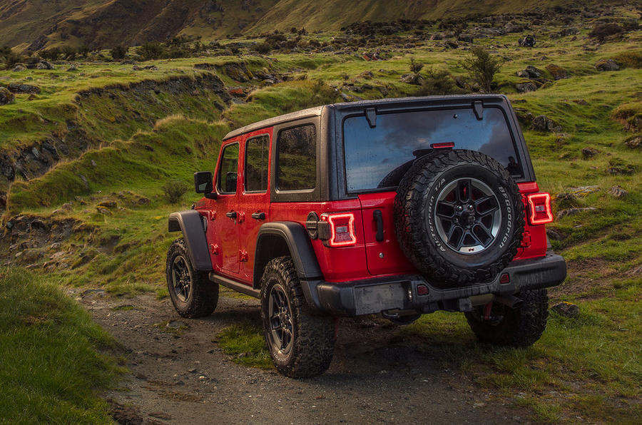 Jeep Wrangler (JL) Unlimited Rubicon 2018 review static rear