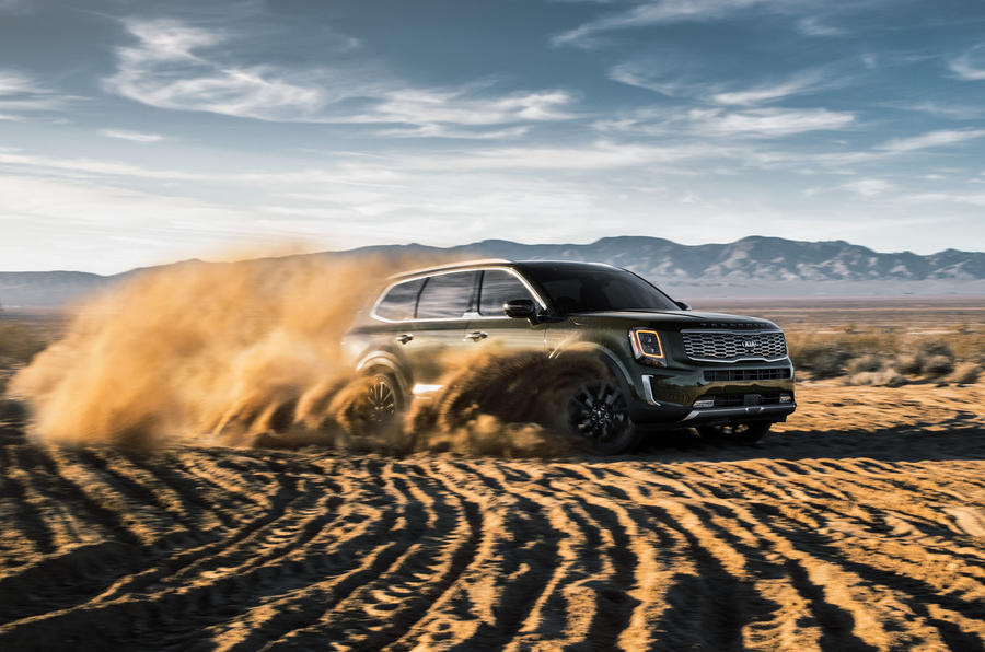 Kia Telluride 2019 first drive review - sand