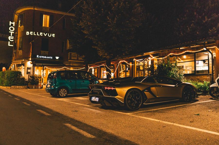 Lamborghini Aventador SVJ roadster - static rear