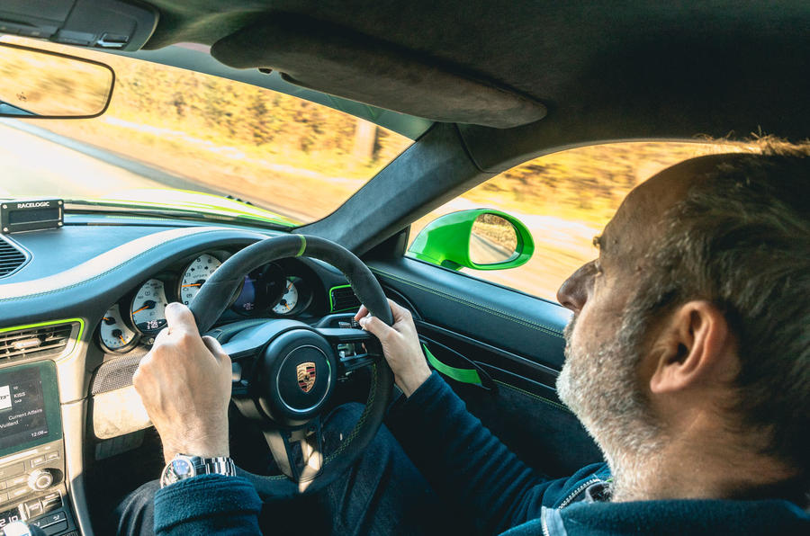 Manthey 911 GT3 RS MR 2020 first drive review - Andrew Frankel driving