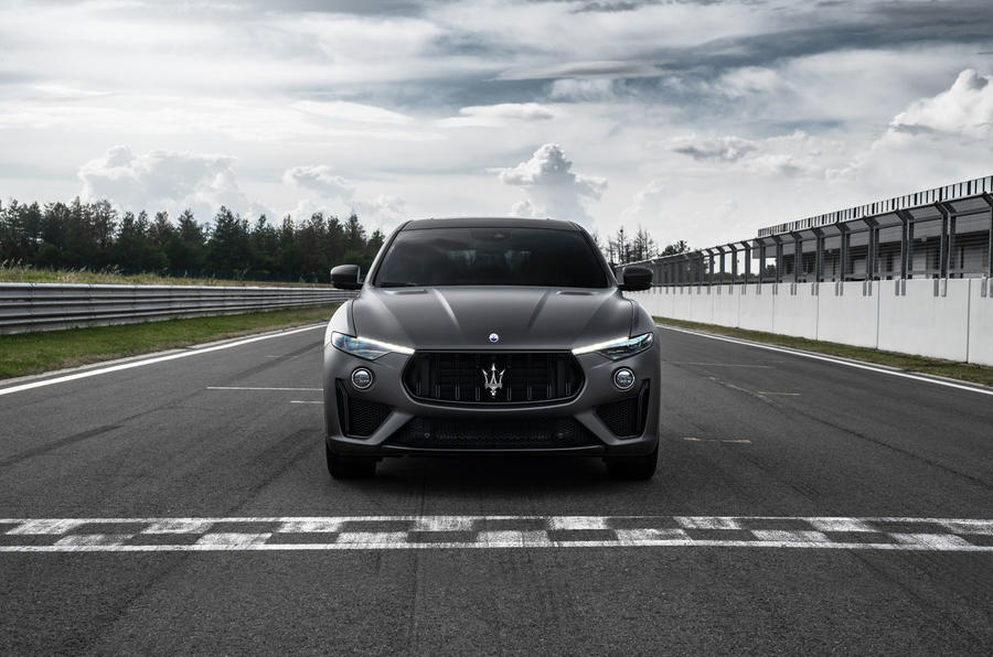 Maserati Levante Trofeo 2019 first drive review - static nose