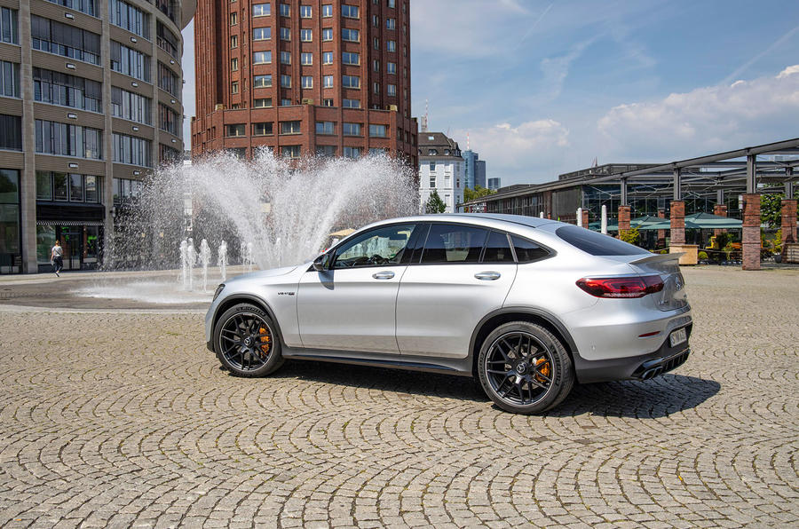 Mercedes-AMG GLC 63 S Coupé 2019 first drive review - static