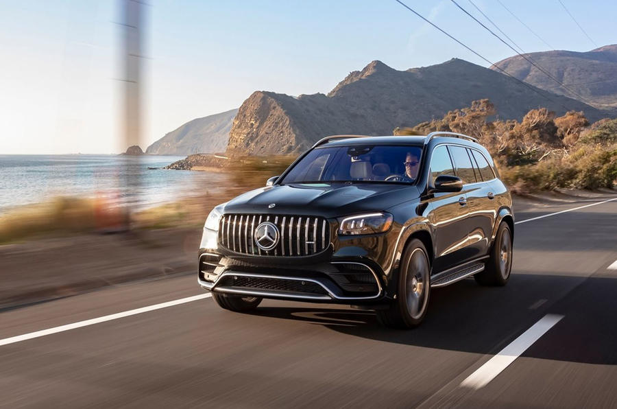 Mercedes-AMG GLS 63 2020 first drive review - on the road front