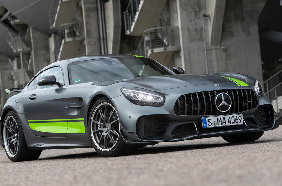 Mercedes-AMG GT R Pro 2019 first drive review - static front