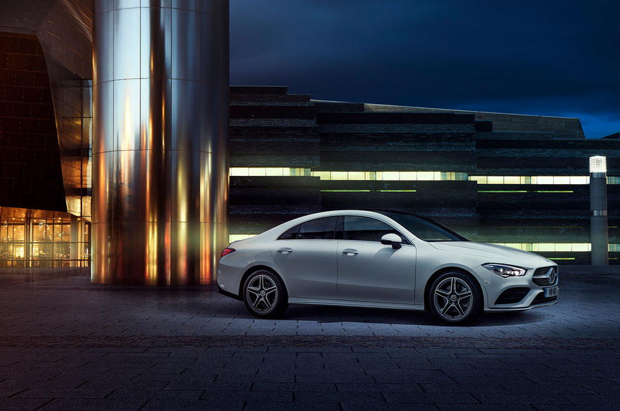 Mercedes-Benz CLA 250 2019 UK first drive review - static