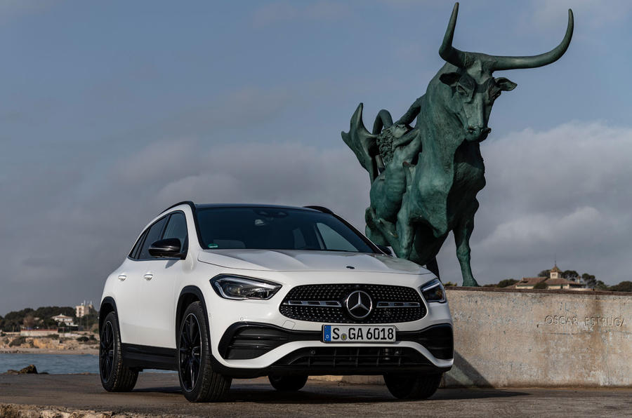 Mercedes-Benz GLA 2020 UK first drive review - static