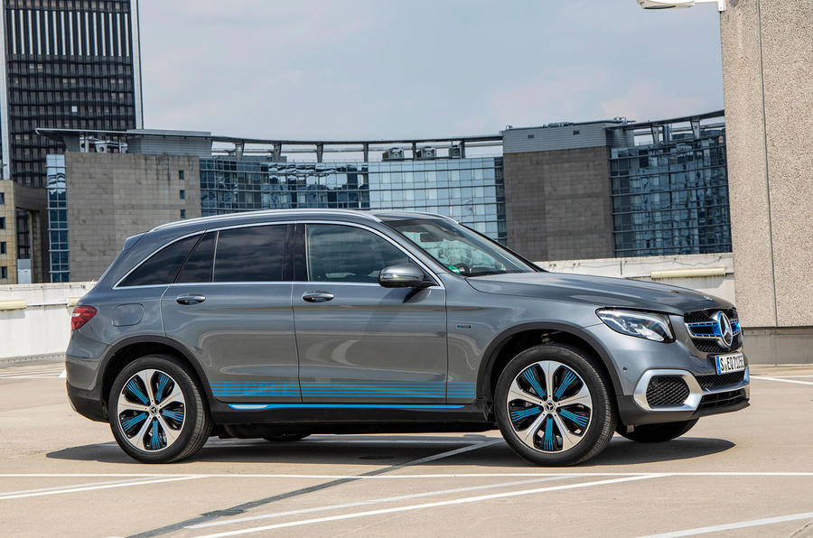 Mercedes-Benz GLC F-Cell 2019 first drive review - static front
