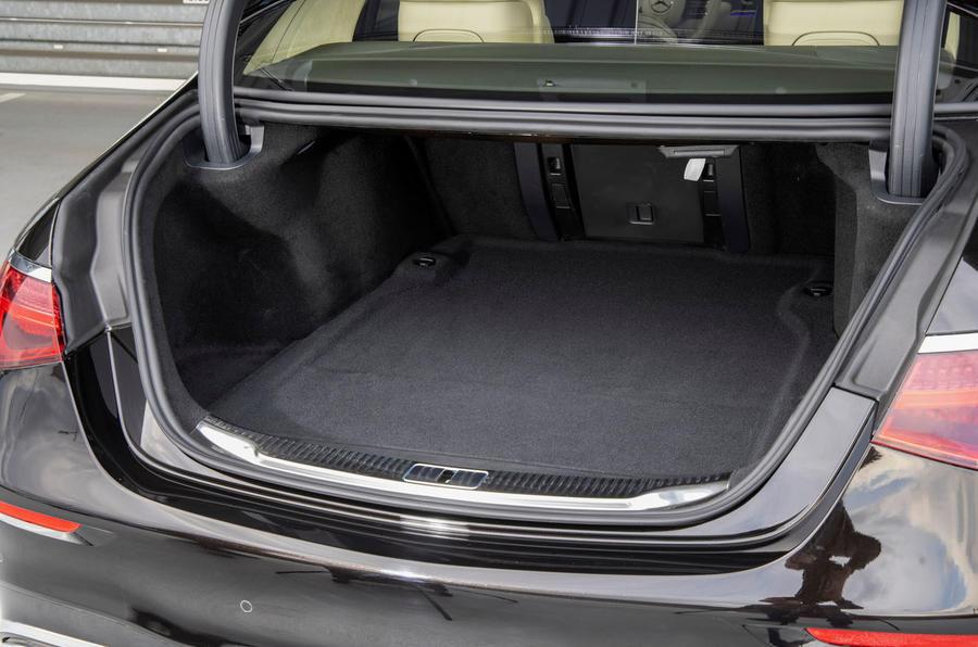 Mercedes-Benz S Class S580e 2020 first drive review - boot